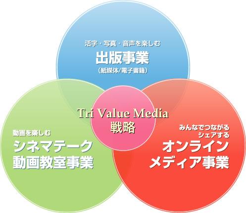 トライバリューメディア戦略